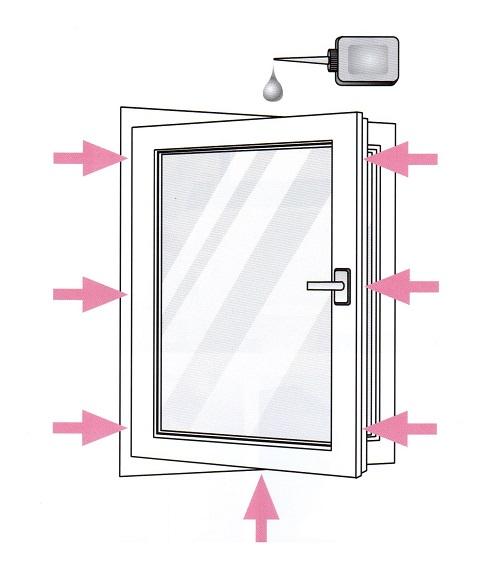 manutenzione della finestra infissi genova garrone