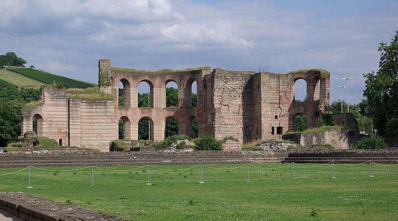 Treviri terme romane oggi