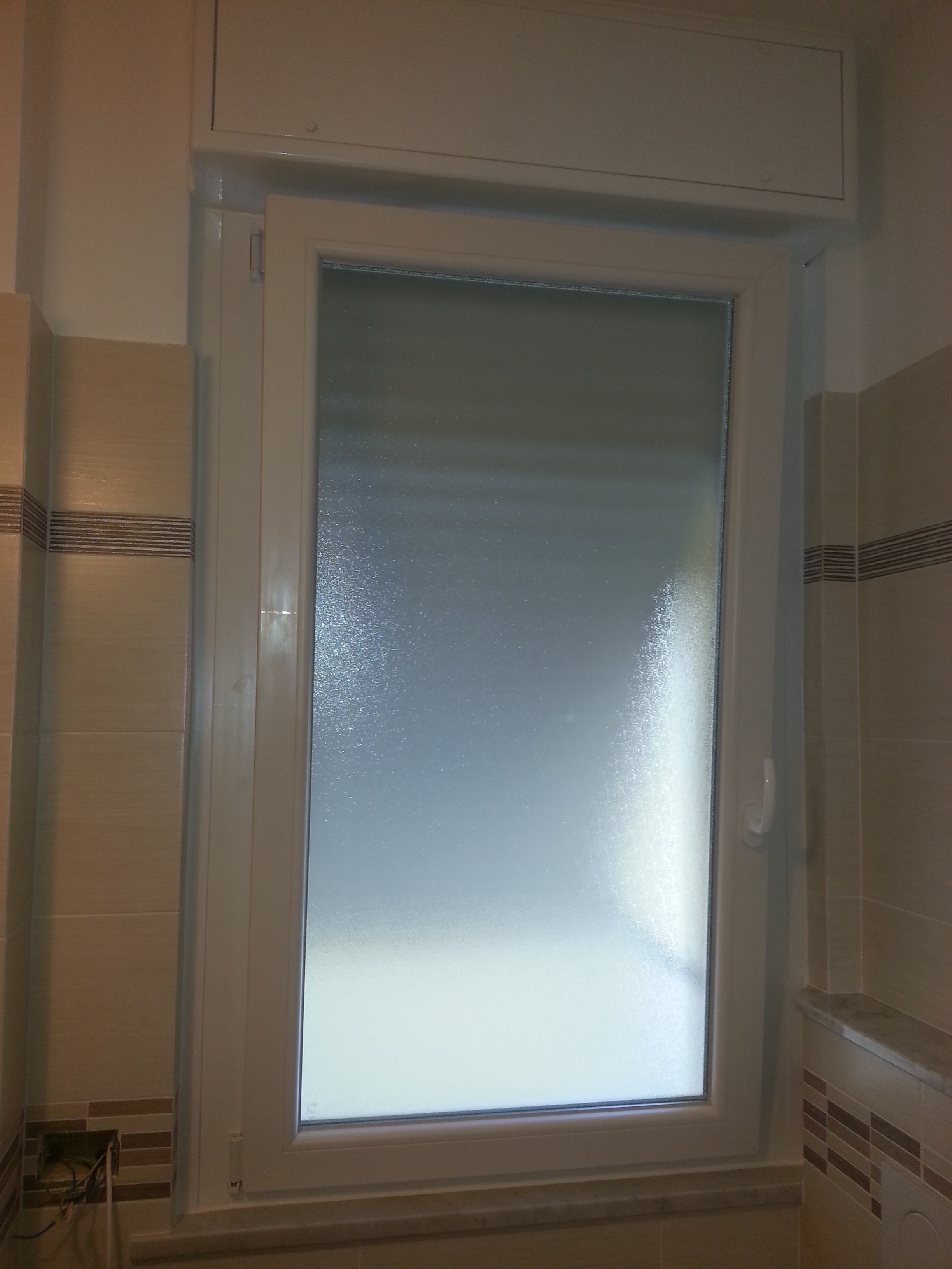 Nostri lavori finestre monoblocco infissi genova - Zanzariere per finestre genova ...