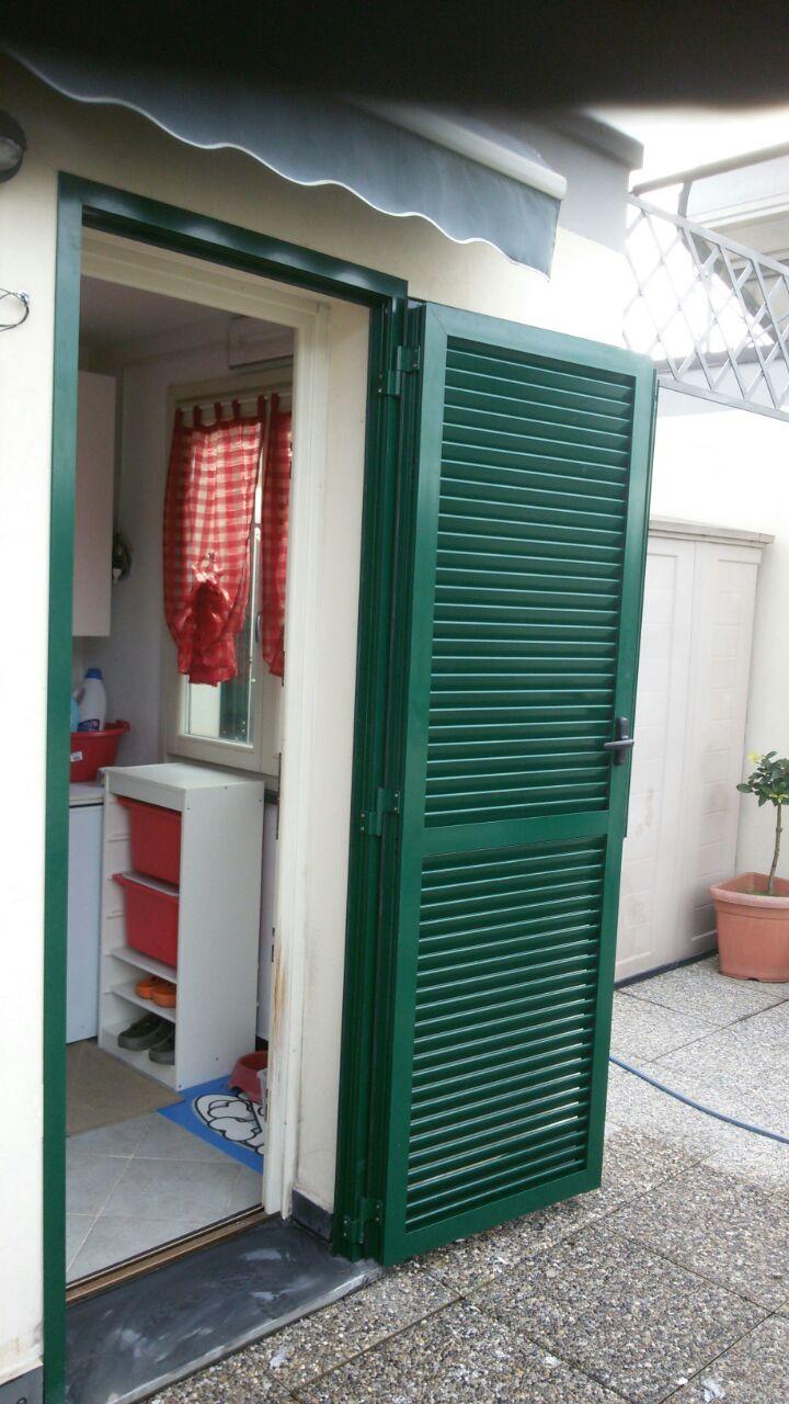 Nostri lavori installazione finestre e persiane con - Persiane con telaio ...