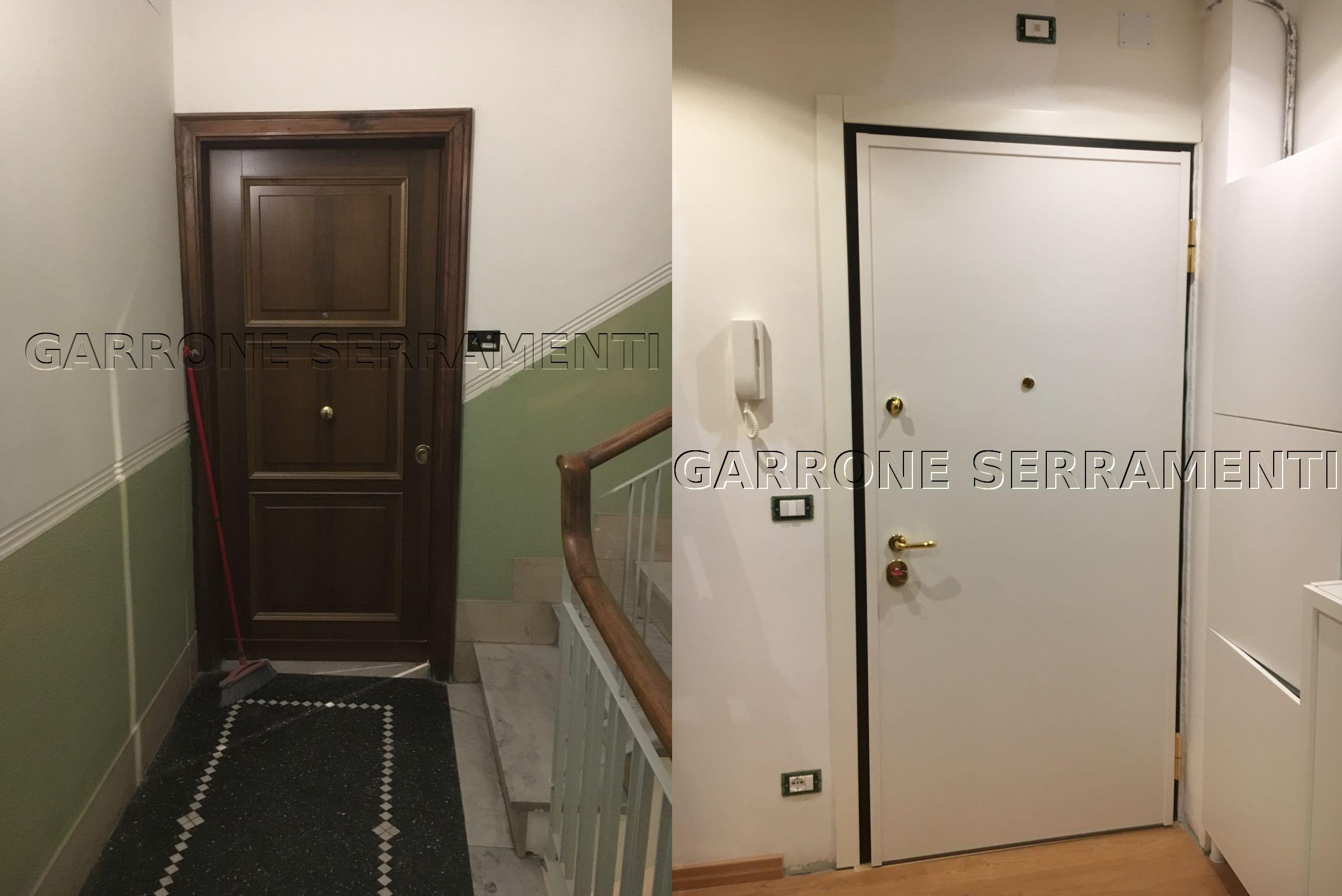 Porta blindata alla genovese infissi genova garrone - Porte e finestre genova ...